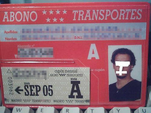 El dise o del abono transportes pons asinorum for Oficina abono transporte
